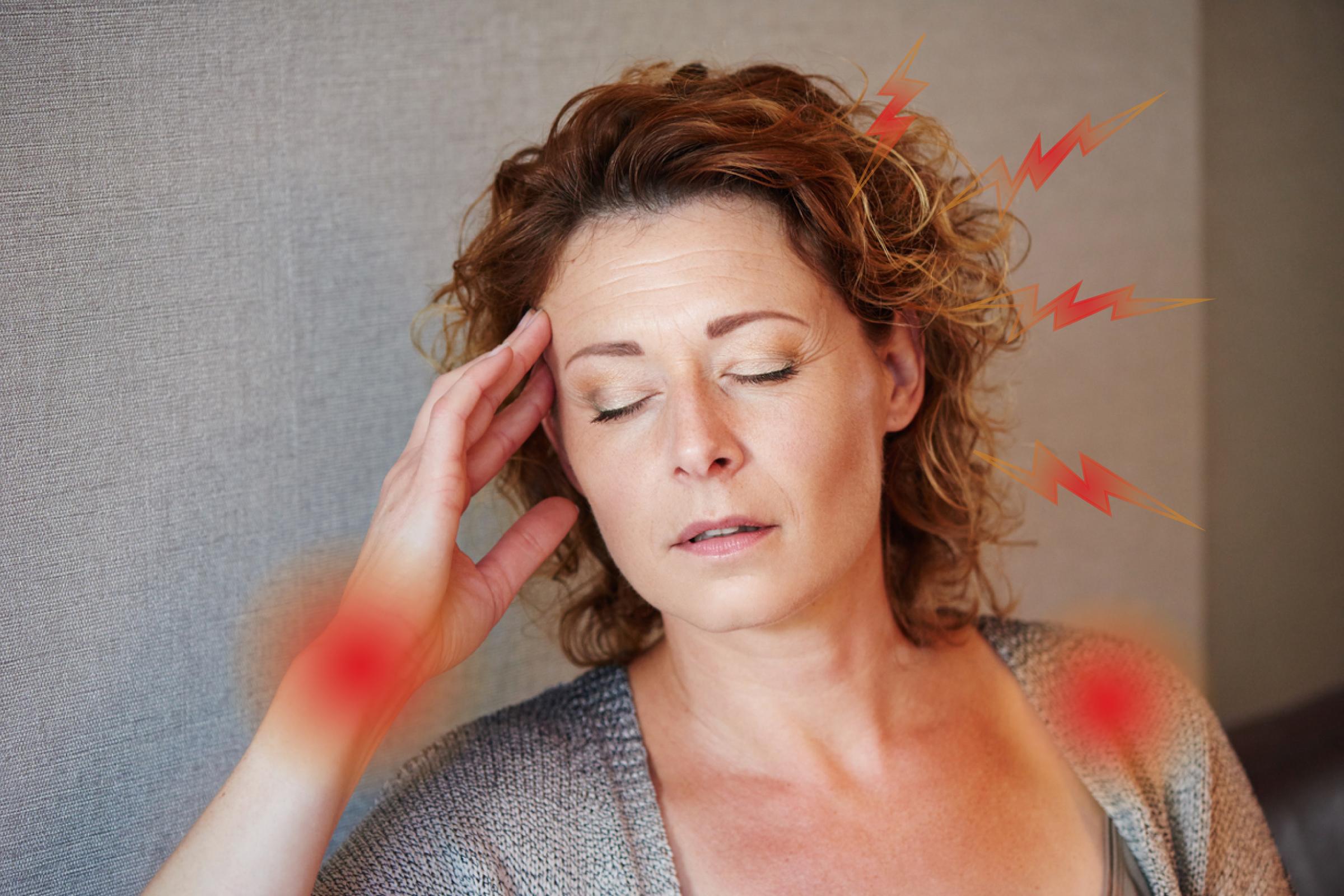 hinchazón pre menopausia