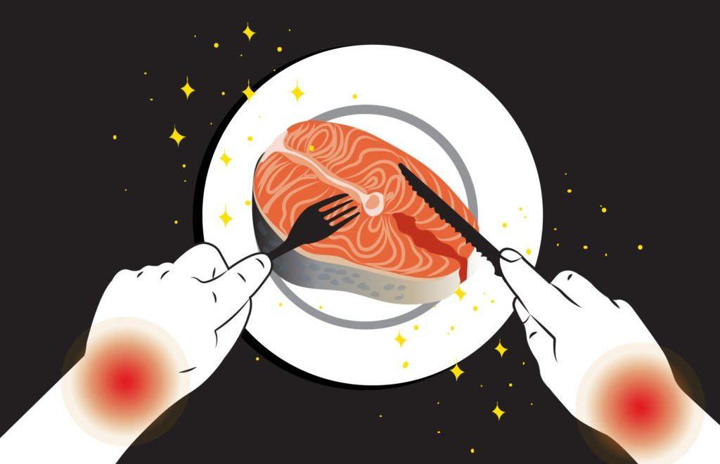 pescado y artritis